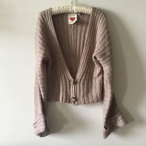 Derek Heart cardigan sweater size Large